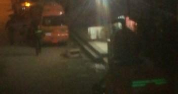 حريق فى مستشفى العبور بكفر الشيخ