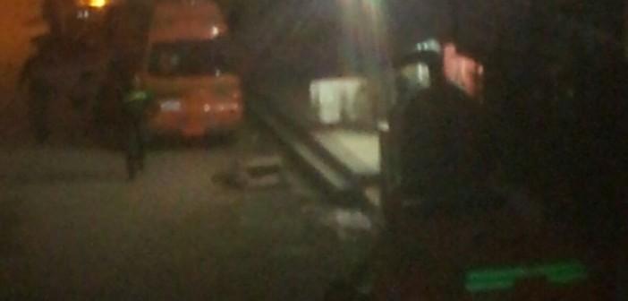 إصابة 7 في حريق شب في مستشفى العبور بكفر الشيخ