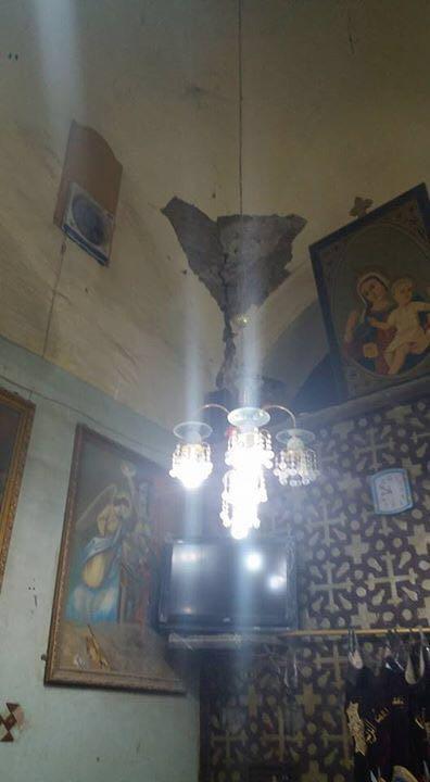 كنيسة «القارة» بقنا آيلة للسقوط.. ومطالب بقرار يعيد بنائها