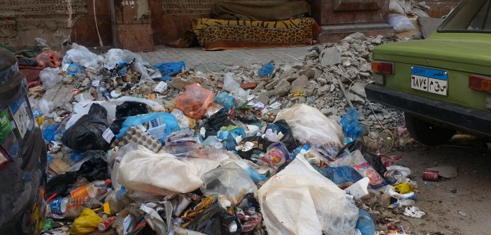 📷| تفاقم أزمة القمامة في منطقة بحري بالإسكندرية