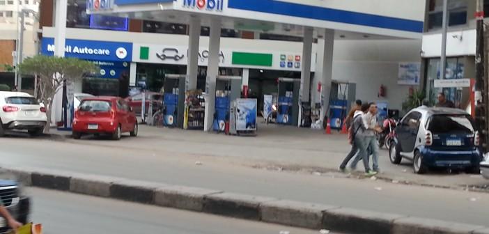بالصور.. محطات وقود فارغة بالإسكندرية بعد زيادة أسعاره