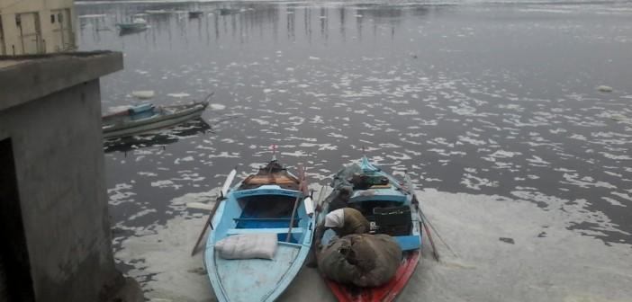 مخاوف بين أهالي «المحمودية» بسبب تسريبات محطات الكهرباء في النيل(فيديو وصور)