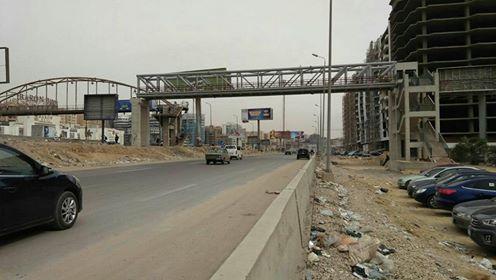 مطالب بإنهاء أعمال كوبري مشاه على «دائري المعادي»