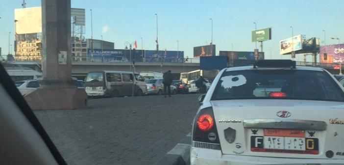 ⚠ اختناق مروري بوسط القاهرة نتيجة إصلاحات كوبري أكتوبر