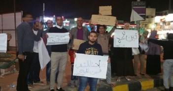 احتجاجات في مدينة 6 أكتوبر بسبب انقطاع المياه