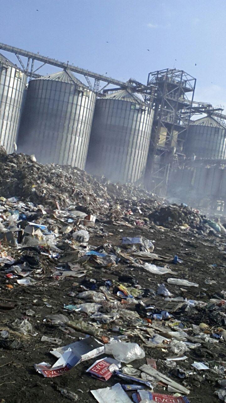 جبال القمامة تحاصر صوامع كفر الشيخ.. ومواطن للمسؤولين: «دة استهتار»