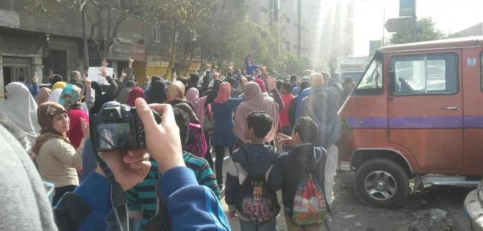📷| مسيرة تضم «إخوان» تنطلق من أمام مسجد كريستال عصفور بشبرا