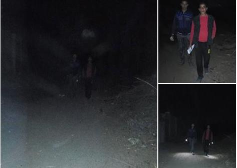الظلام يسيطر على طريق «حمود موسى» بالإسماعيلية وسط تجاهل المسؤولين