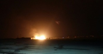 شاهد.. الصور الأولى لانفجار خط الغاز بدمياط