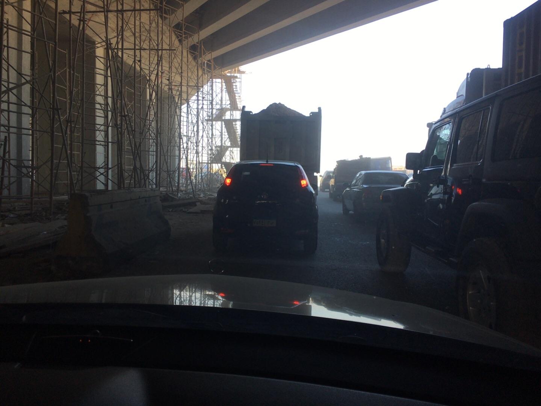 اختناق مروري على طريق القاهرة ـ الإسكندرية الصحراوي