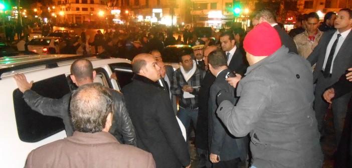 بالصور.. مدير أمن القاهرة يتفقد ميدان التحرير (#خمس_سنين_ثورة)