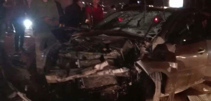📷| مصرع شخص بعدما صدمته سيارة عَ الكورنيش في سان ستيفانو