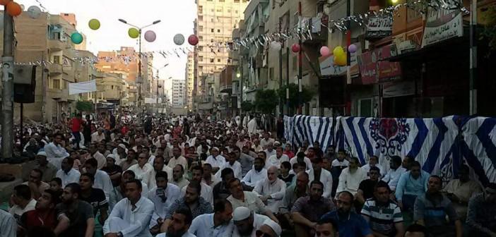 صلاة عيد الفطر في شربين (صور)