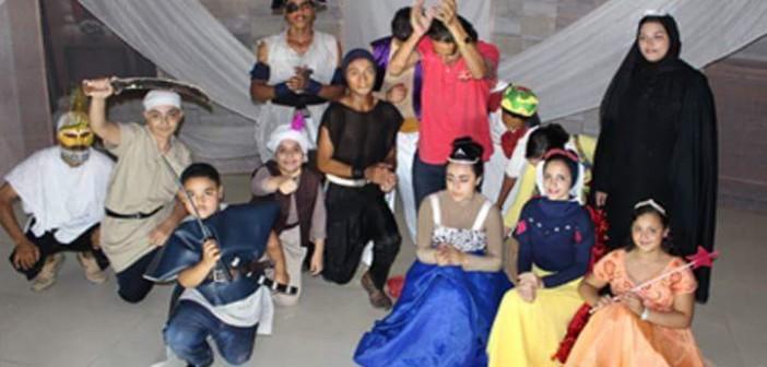 «أبطال الحواديت».. عرض مسرحي لأطفال شربين