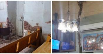 كنيسة قرية القارة في مركز أبو تشت بقنا