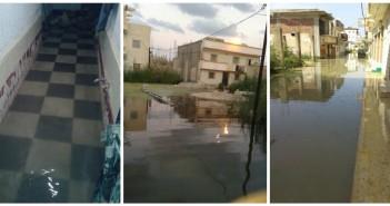 بالصور.. غرق «أبو تلات» بالإسكندرية.. ومواطنون: المسؤولين قالوا أنتم مناطق عشوائية
