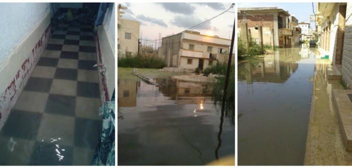 شاهد.. غرق «أبو تلات» بالإسكندرية.. ومواطن: مسؤولون قالوا لنا دي عشوائيات