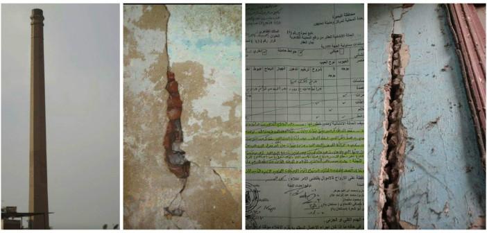 بالصور..  مدرسة آيلة للسقوط بدمنهور تهدد حياة الطلاب.. وإخلاءها «مُجمّد»