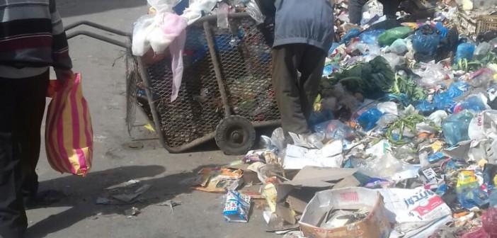 📷| تفاقم أزمة القمامة بالإسكندرية.. «نهضة مصر» محتاجة اللي ينهض بيها