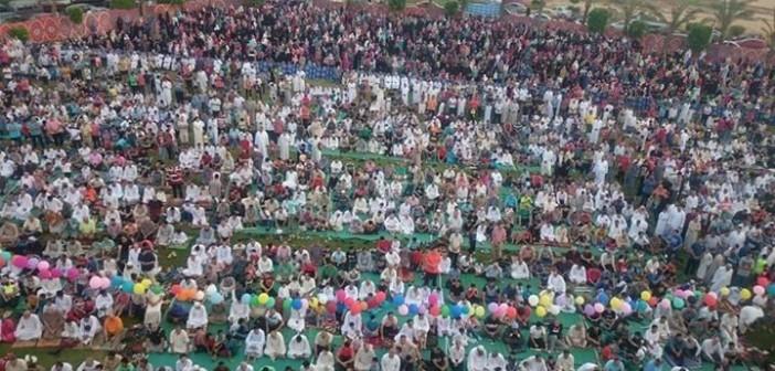 بالصور.. مظاهر الاحتفال بعيد الفطر في مدينة «الشروق».. شاركونا صوركم