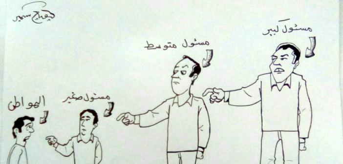 قطار إسكندرية.. مين هيشيل الليلة؟! (كاريكاتير )