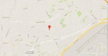 خريطة أرض الأوقاف بمدينة السلام