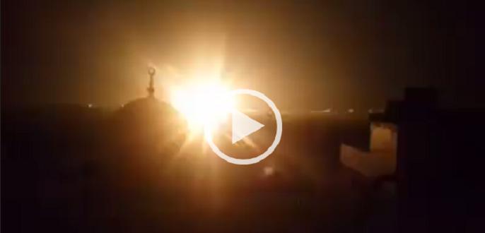 بالفيديو.. لحظة انفجار خط الغاز بدمياط.. وتصاعد ألسنة اللهب
