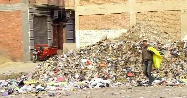 تفاقم أزمة القمامة في الحي الغربي لشبين الكوم (صور)