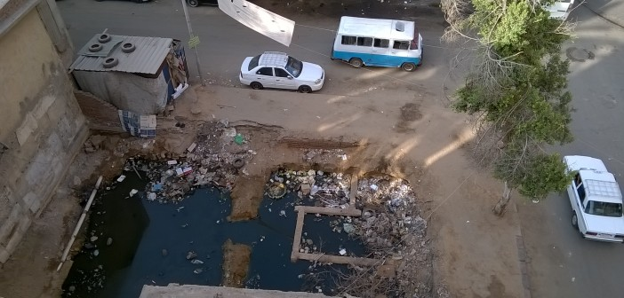 سكان بحلمية الزيتون يشكون تفاقم أزمة الصرف الصحي وتجاهل المسؤولين