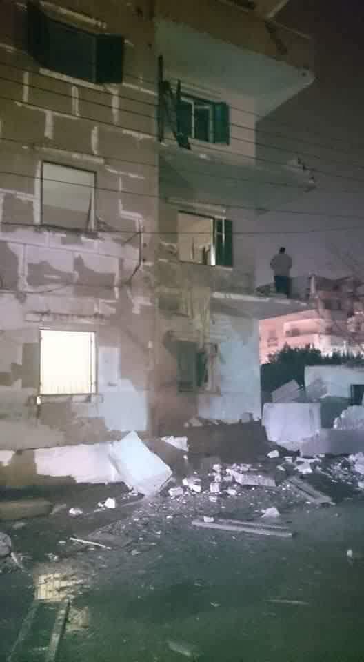 المشاهد الأولى لانفجار قنبلة بجوار محكمة منوف