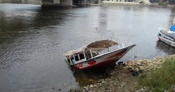 تواصل سقوط الأمطار في 6 أكتوبر.. وغرق مركب نيلي أسفل 15 مايو
