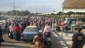 طلاب أطفيح يطالبون وزير النقل بأتوبيسات تُقلهم إلى جامعة حلوان
