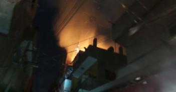اندلاع حريق في منزل بعد انفجار أنبوبة غاز ببني سويف