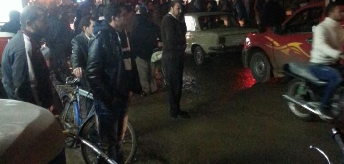 بالصور.. المشاهد الأولى لانفجار قنبلة بجوار محكمة منوف