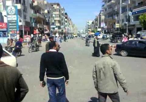 هدوء تام في شوارع وميادين قنا في ذكرى الثورة