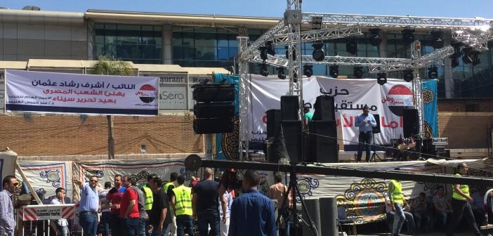 تواجد أمني كثيف بالإسكندرية.. واحتفال بعيد تحرير سيناء بسيدي جابر