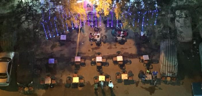 استياء من انتشار المقاهي في شارع ٩ بحدائق المعادي