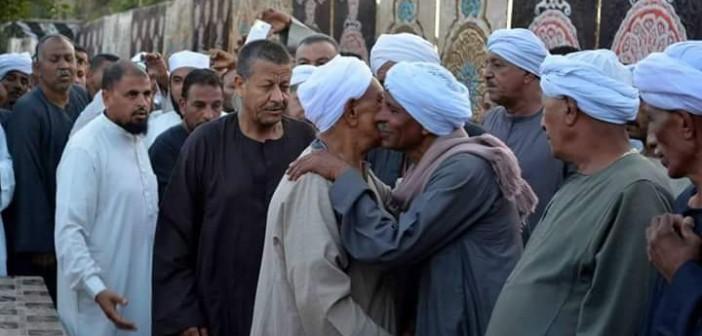 بالصور.. مراسم الصلح بين عائلة حسب الله وقبيلة بني هلال بالأقصر