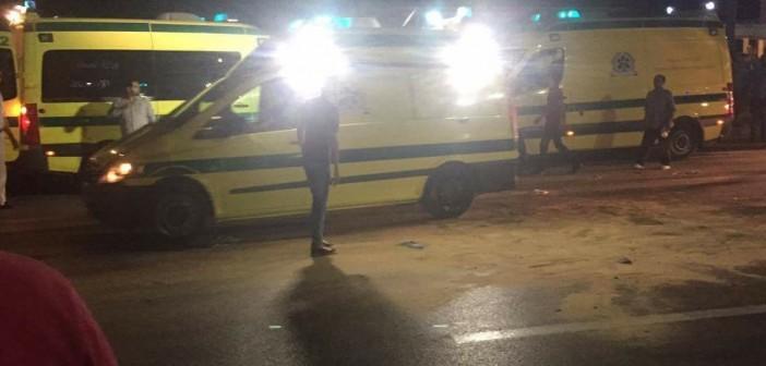 متابعة | مصرع فتاة في تصادم كامب شيزار بالإسكندرية (صور)