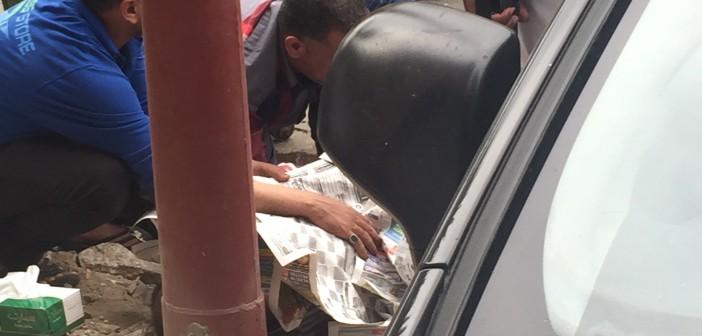 مصرع مواطن تعثرت قدمه برصيف شارع بالإسكندرية