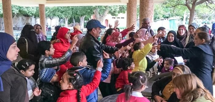 📷 بالصور.. حملة توعية بالحياة البرية في حديقة حيوان الإسكندرية