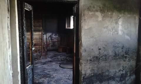 بالصور.. حريق يدمر مصنع موبيليا في سيدي غازي بكفر الشيخ