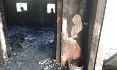 حريق هائل يدمر مصنعًا للموبيليا في سيدي غازي بكفر الشيخ
