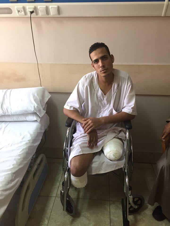دي صورة المجند محمد ممدوح اللي كان في المدرعة مع اخي