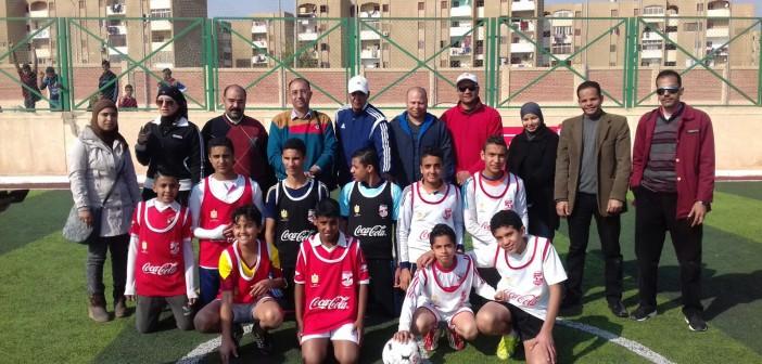 بالصور.. مركز شباب الشيخ زايد يفوز ببطولة الجيزة لكرة القدم