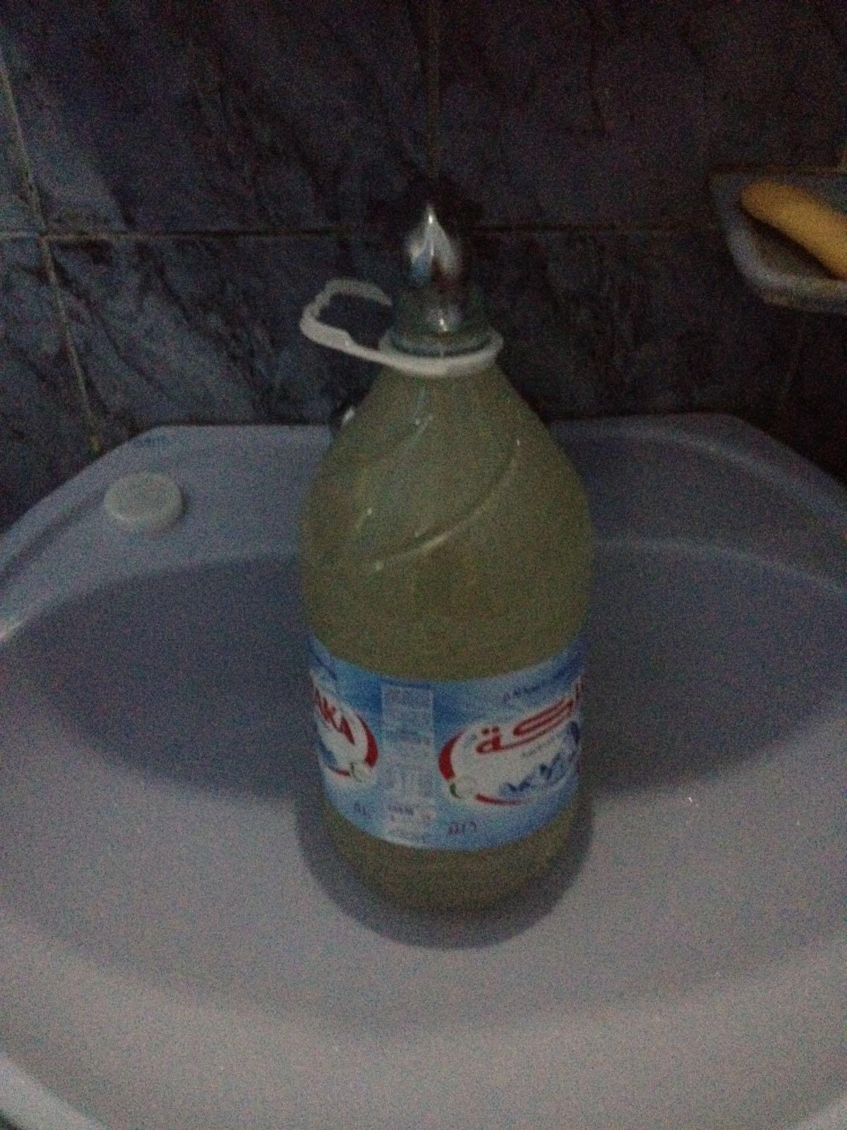 تغيّر لون مياه الشرب في العمرانية بالجيزة