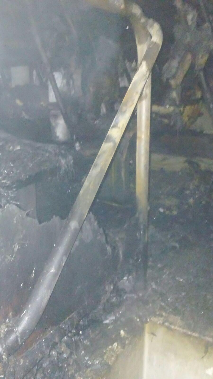 تفحم 5 أتوبيسات في حريق هائل بجراج بولاق الدكرور