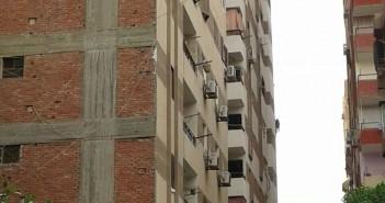 بناء مُتسارع لأبراج مخالفة في عين شمس أدى لانهيار البنية التحتية