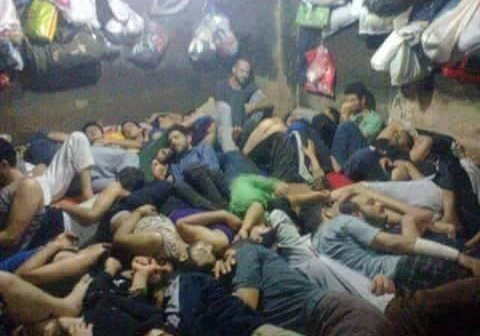 ليلة واحدة تكفى في حجز الشرطة (#شبر_وقبضة)
