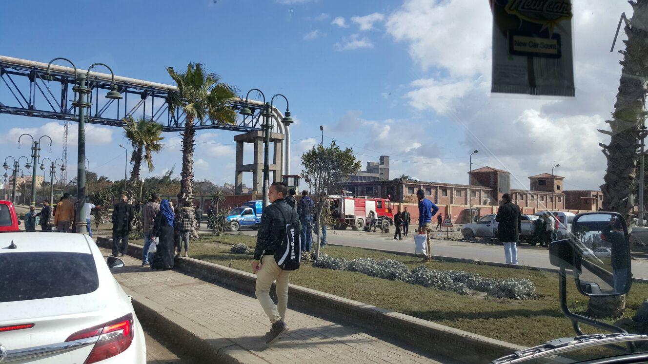 تفكيك عبوة ناسفة وضعت أسفل خط للغاز قرب محطة قود بالإسكندرية